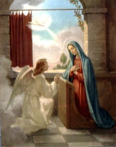 """Then the angel said to her, 'Do not be afraid, Mary, for you have found favor with God.  Behold, you will conceive in your womb and bear a son, and you shall name Him Jesus.'""- Luke 1:30-31"