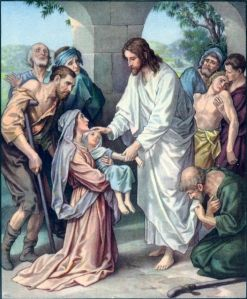 Jesus Cures the Sick