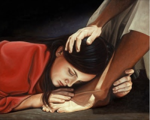 Jesus and Sinful Woman