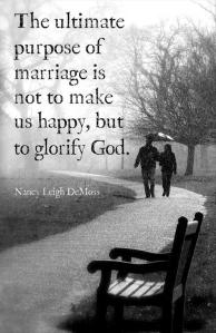 Purpose of Marriage