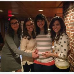 Me, Amanda, Meg, and Jenn